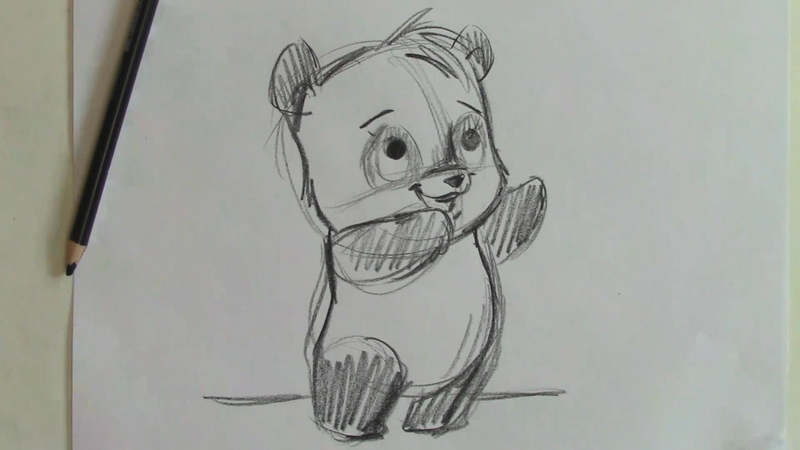 How to Draw a Cartoon Panda | Curious.com