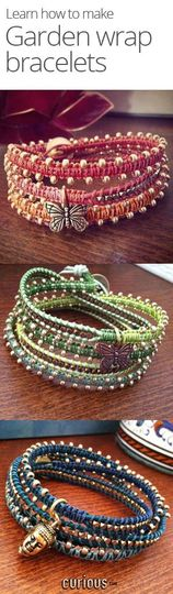 how to make a wrap bracelet youtube
