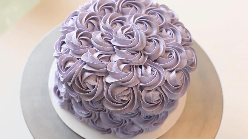 How To Make Rose Buttercream Icing Cake Curious Com