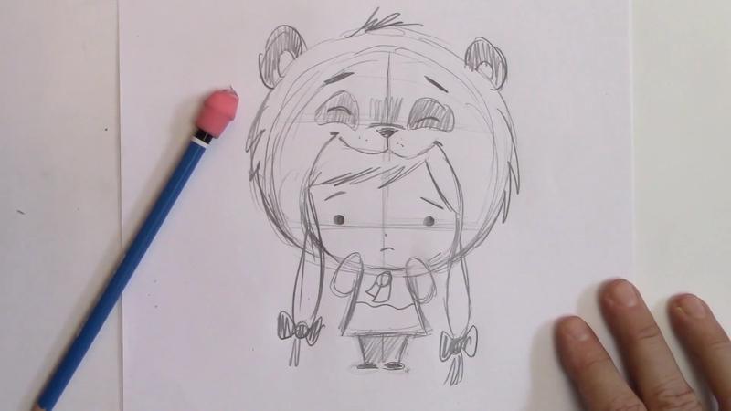 How To Draw A Manga Kawaii Girl
