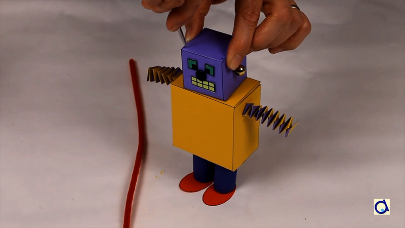 How to make a diy paper robot malvernweather Image collections