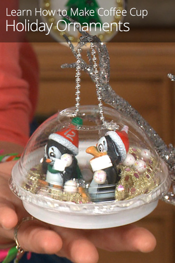 how to make coffee cup holiday ornaments