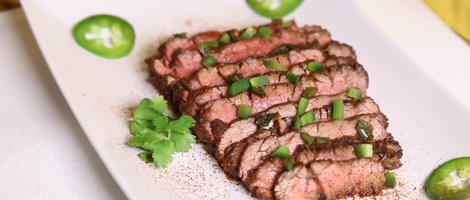 Maple Jalapeño Chipotle Skirt Steak