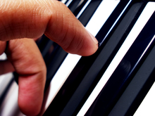 Piano Finger Position and Chords by Mark Almond