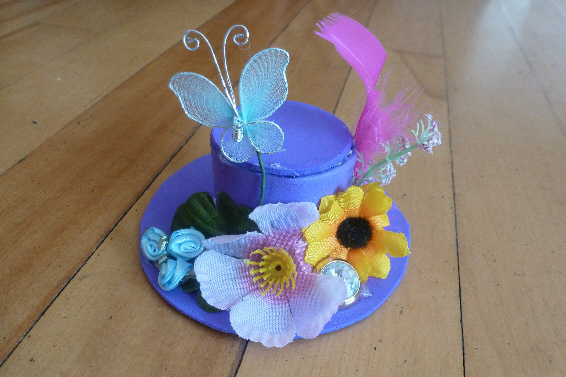 Crazy Hat Ideas For Crazy Hat Day Diy mini hat fascinator