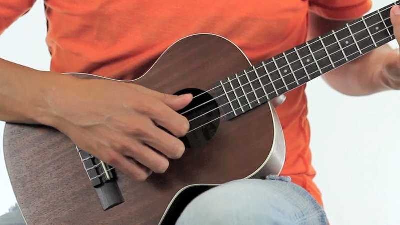 "Ukulele ukulele chords 1234 : Grow Old With You"" on Ukulele"