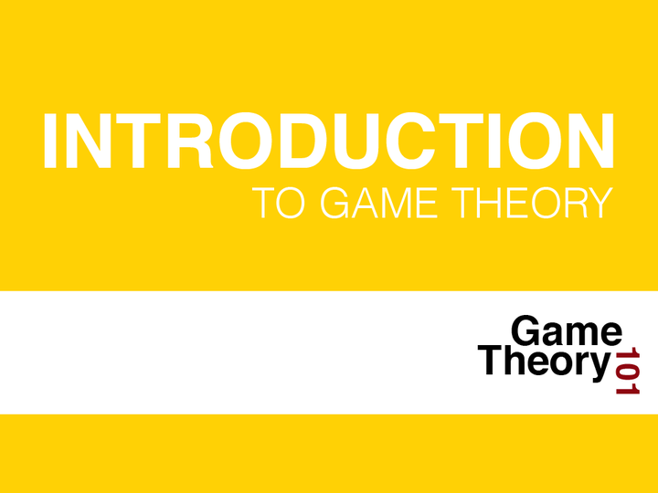 an introduction to game theory Preface this book presents some of the main ideas of game theory it is designed to serve as a textbook for a one-semester graduate course consisting of.