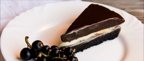 Triple Chocolate Truffle Torte Recipe