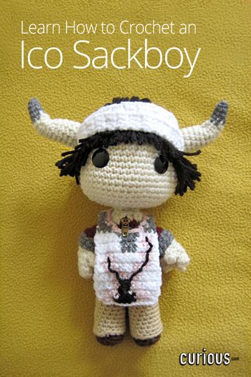 How to Make a Crochet Sackboy