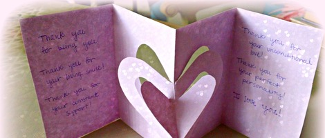 DIY 3D Valentine's Day Card