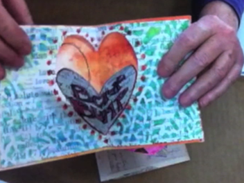 New Curious lesson - How to Make a Pop-Up Heart Card