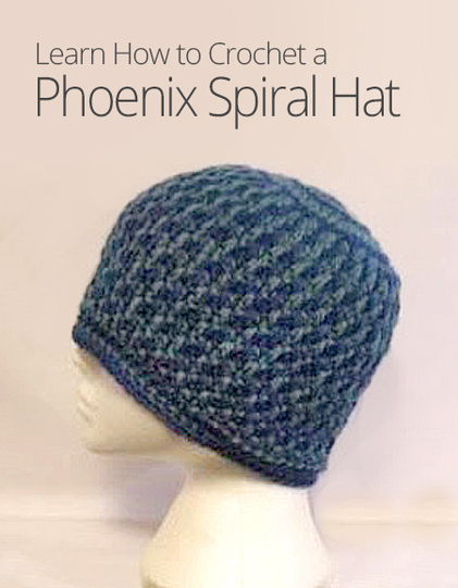 Crochet Swirl Beanie cb33904015f