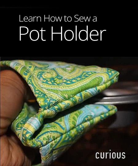 Homemade Pot Holders: How To Make A Pot Holder