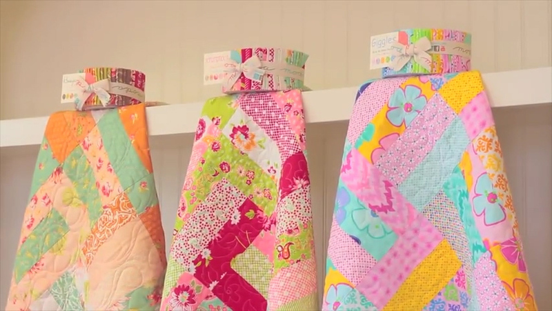 How To Make A Simple Jelly Roll Quilt Curious Com