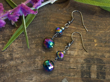 New Curious Lesson - Easy Beaded Drop Earrings!