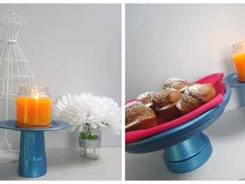 New Curious lesson - DIY Decor or Cake Stand