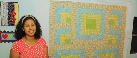 Beginner's Handmade Quilt Project