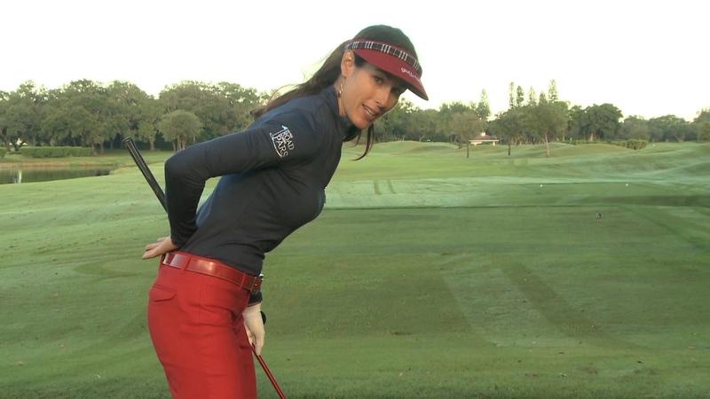 Keys to Driver Setup i... Christina Ricci Golf