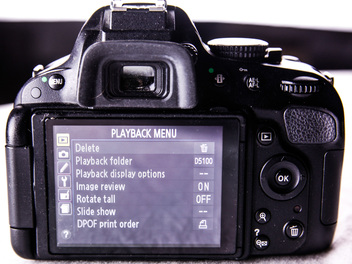 New Curious lesson - Nikon D5100 Menu Systems