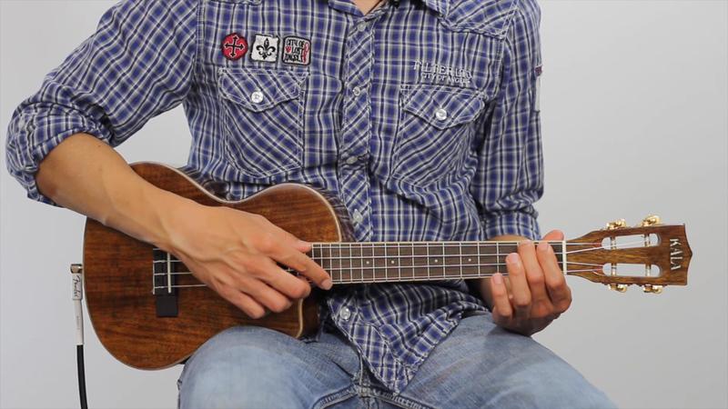 """Ukulele ukulele chords lesson : Happy Birthday"""" on Ukulele"""