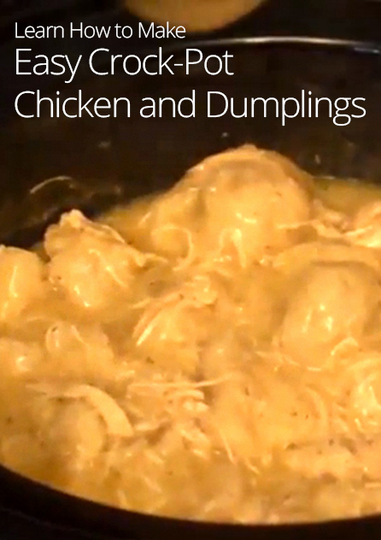 Crock pot chicken and dumpling recipes easy