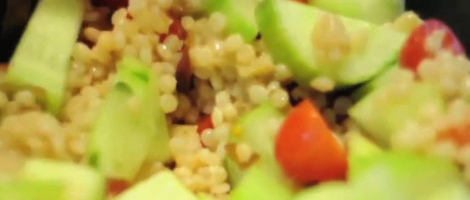 Couscous & Mango Summer Salad