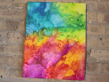 How to Make Crayon Melting Art