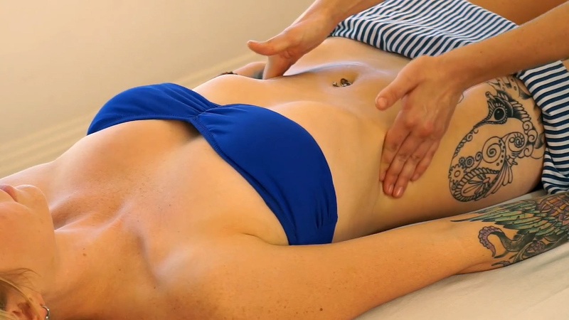 Massaging The Abs And Stomach  Curiouscom-3704