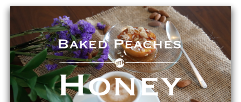 Baked Peaches with Honey Recipe