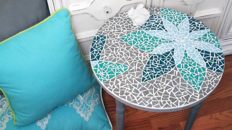How To Mosaic A Table With A Design Curious Com